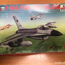 Radio Control: MAQUETA AVION F-16 A NUNCA MONTADA CON PEGATINAS Y INTRUCCIONES ESCI ESCALA 1/72. Lote 172157242