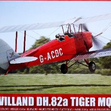 "Radio Control: DE HAVILLAND DH.82 TIGER MOTH (GUERRA CIVIL) 1/72 AIRFIX (""NEW TOOLING""). Lote 172998874"