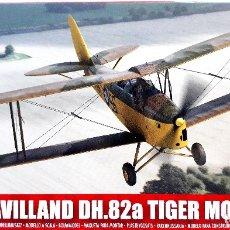 """Radio Control: DE HAVILLAND DH.82 TIGER MOTH (GUERRA CIVIL) 1/72 AIRFIX (""""NEW TOOLING"""") B. Lote 173129930"""