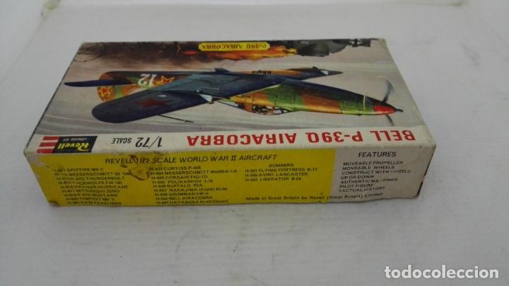 Radio Control: CAJA DE CARTON VACIA, AVION BELL P-39 Q AIRACOBRA, ESCALA 1/72 - Foto 2 - 173541875