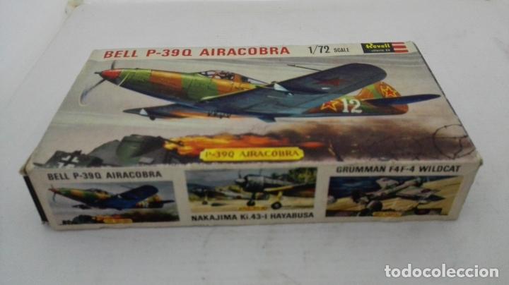 CAJA DE CARTON VACIA, AVION BELL P-39 Q AIRACOBRA, ESCALA 1/72 (Juguetes - Modelismo y Radiocontrol - Radiocontrol - Aviones y Helicópteros)