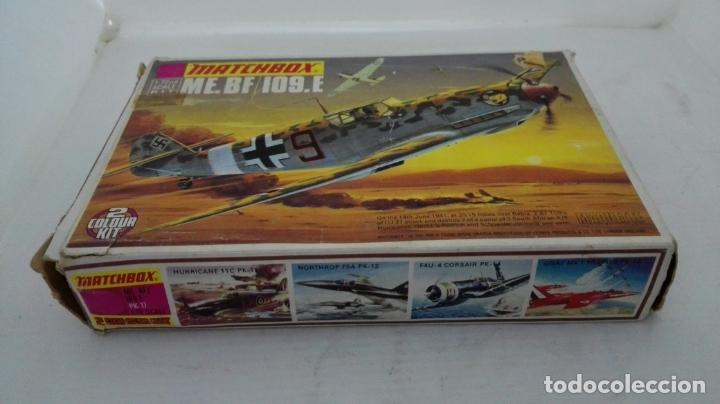 CAJA DE CARTON VACIA, MATCHBOX - ME. BF/109.E, ESCALA 1/72 (Juguetes - Modelismo y Radiocontrol - Radiocontrol - Aviones y Helicópteros)