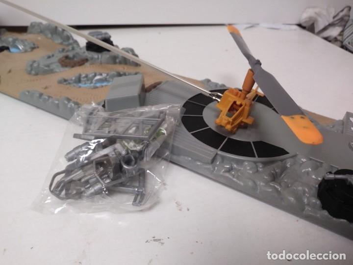 Radio Control: Helicoptero de rescate micromachines micro machines tipo sos helicopter o rescate espacial - Foto 2 - 174221579