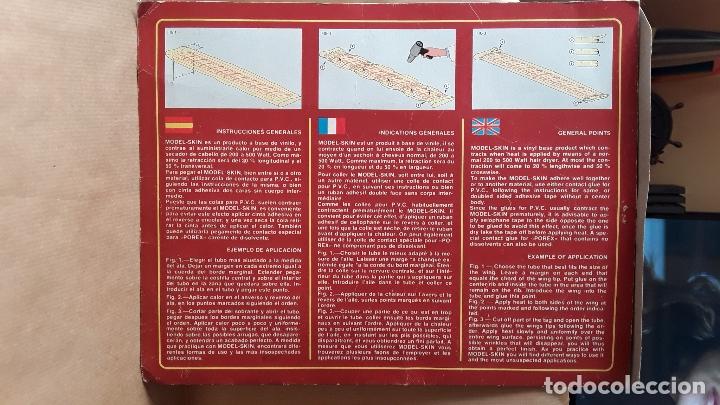 Radio Control: -MODEL -SKIN-MODEL HOB-ANCHO 230mm-2 METROS-TUBO RETRACTIL PARA ENTELAR ALAS - Foto 4 - 174975367