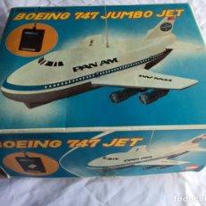 Radio Control: BOEING 747 JUMBO JET ASAHI. Lote 175857628