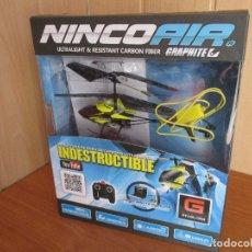 Radio Control: BONITO HELICOPTERO DE RADIOCONTROL NINCO AIR (NUEVO A ESTRENAR). Lote 177059119