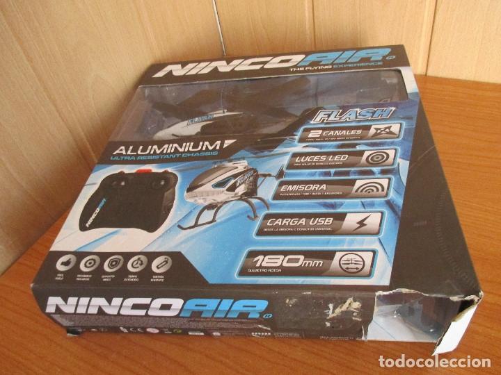Radio Control: BONITO HELICOPTERO DE RADIOCONTROL NINCO AIR (NUEVO A ESTRENAR) - Foto 3 - 177059370