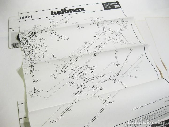 Radio Control: HELICÓPTERO DE RADICONTROL O TELEDIRIGIDO MARCA GRAUPNER - HELIMAX 60/80 - Foto 28 - 177088102