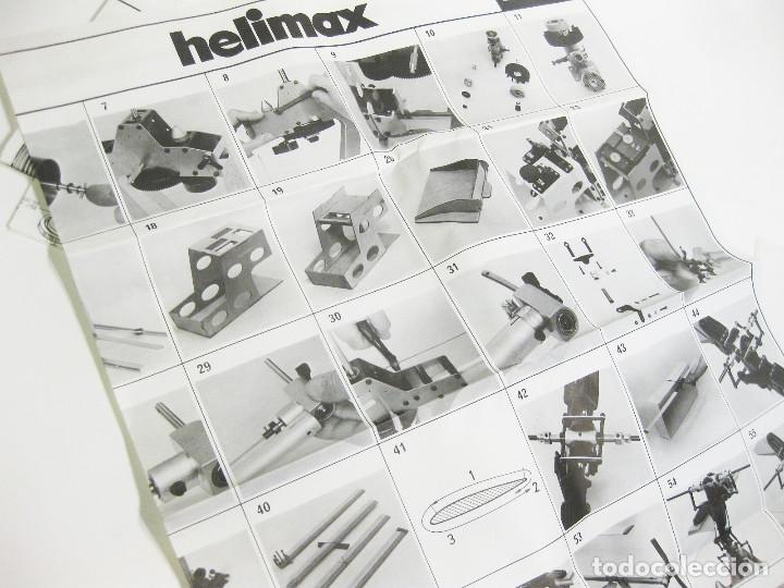 Radio Control: HELICÓPTERO DE RADICONTROL O TELEDIRIGIDO MARCA GRAUPNER - HELIMAX 60/80 - Foto 29 - 177088102