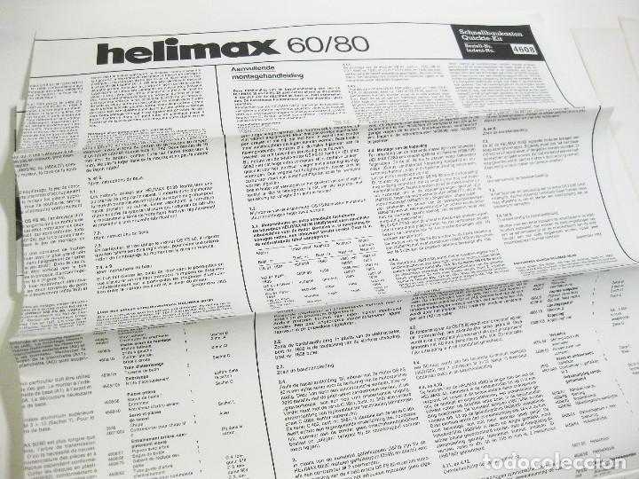 Radio Control: HELICÓPTERO DE RADICONTROL O TELEDIRIGIDO MARCA GRAUPNER - HELIMAX 60/80 - Foto 30 - 177088102