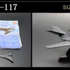 Radio Control: LOTE MAQUETA DE AVION - F 117A - SCL 1/165 - LONG. 11 CM. Lote 177322443