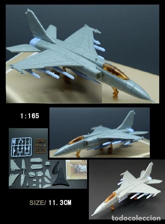 LOTE MAQUETA DE AVION - XIAN JH - 7 - SCL 1/165 - LONG. 11,3 CM (Juguetes - Modelismo y Radiocontrol - Radiocontrol - Aviones y Helicópteros)