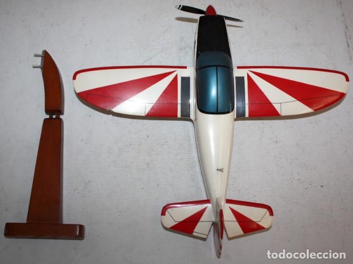 Radio Control: AVION DE MADERA DE LOS AÑOS 80 - Foto 2 - 177342019