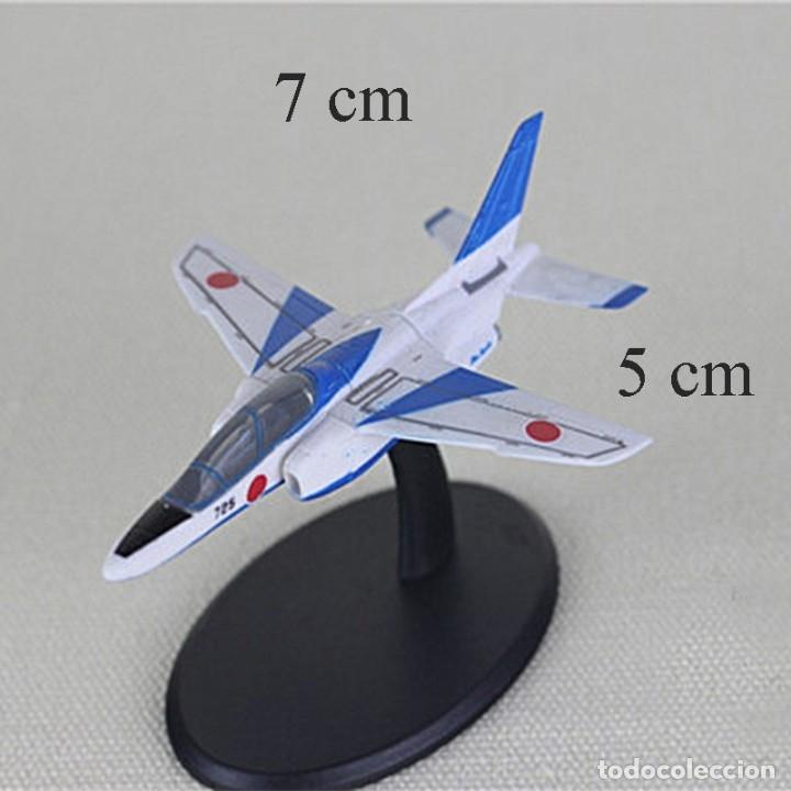 LOTE MAQUETA DE AVION - KAWASAKI T-4 - PATRULLA ACROBATICA FUERZA AEREA JAPONESA - LONG. 7X5 CM (Juguetes - Modelismo y Radiocontrol - Radiocontrol - Aviones y Helicópteros)