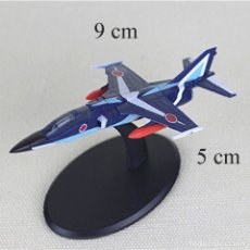 Radio Control: LOTE MAQUETA DE AVION - MITSUBISHI F- 1 PATRULLA ACROBATICA JAPONESA BLUE IMPULSE - LONG. 9X5 CM. Lote 177380935