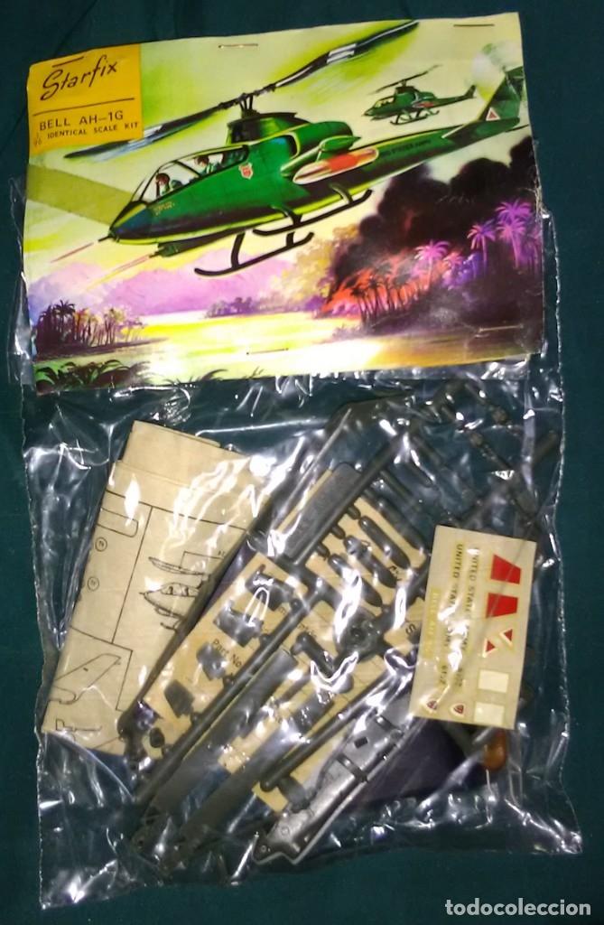 LOTE ANTIGUA MAQUETA NUEVA DE HELICOPTERO - STARFIX - BELL AH-1G - SCL 1/96 - LONG. 14 CM (Juguetes - Modelismo y Radiocontrol - Radiocontrol - Aviones y Helicópteros)