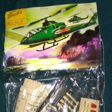 Radio Control: LOTE ANTIGUA MAQUETA NUEVA DE HELICOPTERO - STARFIX - BELL AH-1G - SCL 1/96 - LONG. 14 CM. Lote 177730709