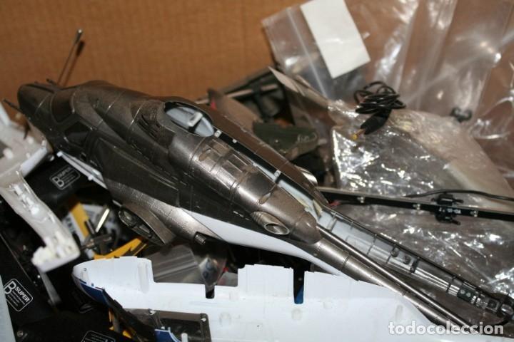 Radio Control: lote de aviones helicopteros y muchas piezas - Foto 2 - 177837685