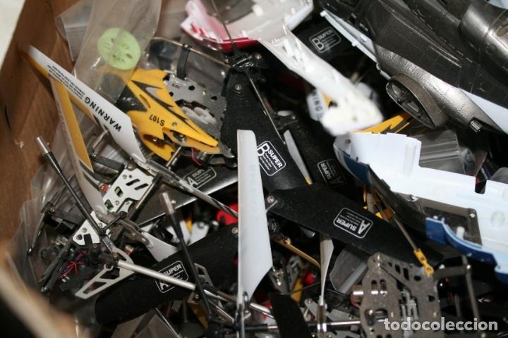 Radio Control: lote de aviones helicopteros y muchas piezas - Foto 3 - 177837685