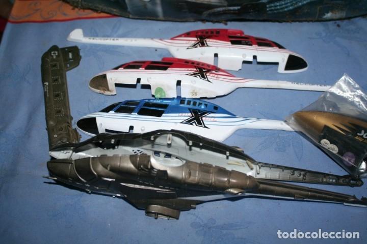Radio Control: lote de aviones helicopteros y muchas piezas - Foto 4 - 177837685