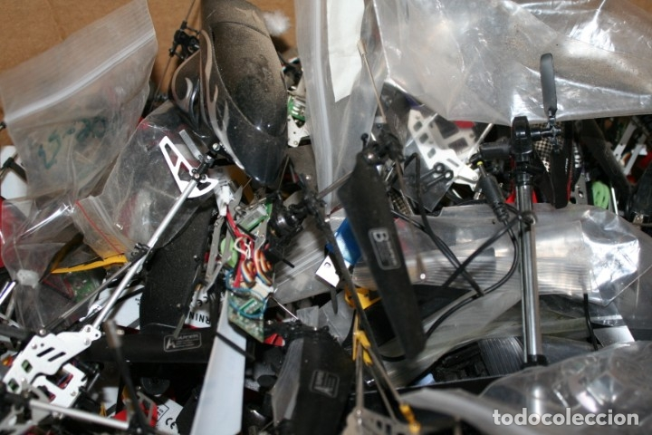 Radio Control: lote de aviones helicopteros y muchas piezas - Foto 6 - 177837685