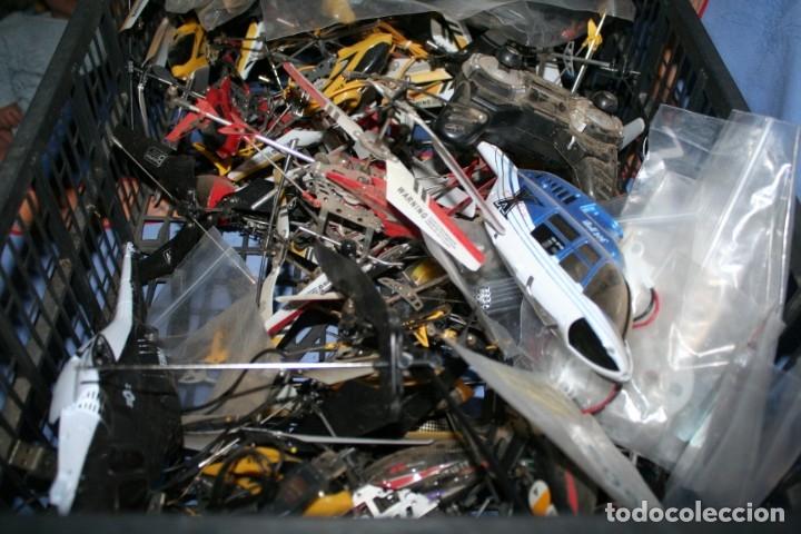 Radio Control: lote de aviones helicopteros y muchas piezas - Foto 10 - 177837685
