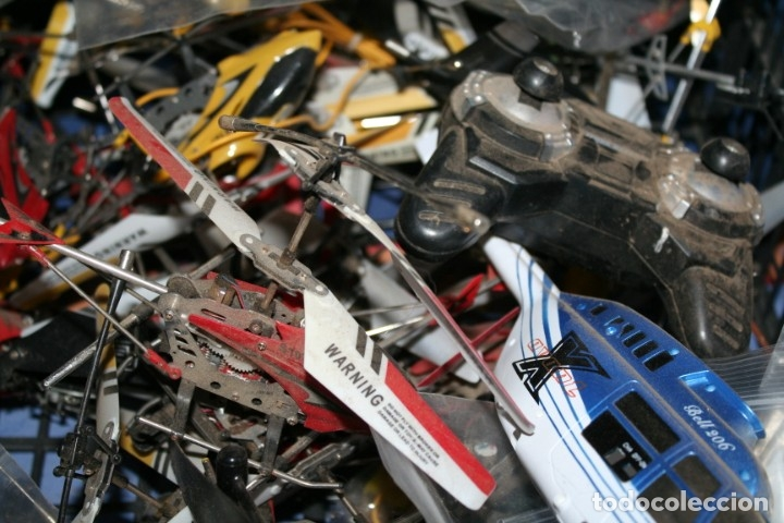Radio Control: lote de aviones helicopteros y muchas piezas - Foto 11 - 177837685