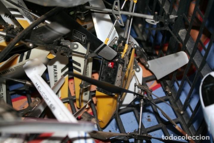 Radio Control: lote de aviones helicopteros y muchas piezas - Foto 12 - 177837685