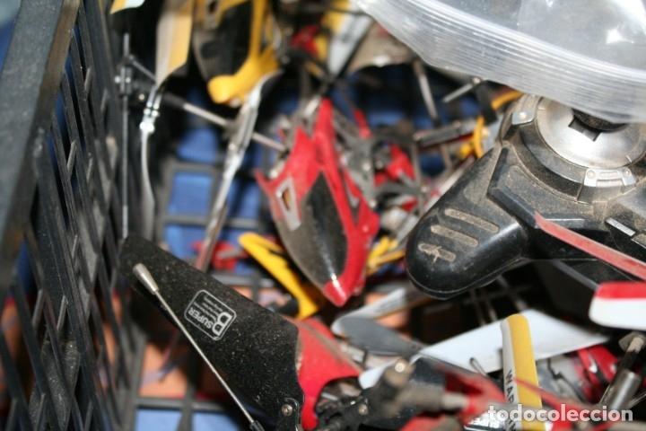 Radio Control: lote de aviones helicopteros y muchas piezas - Foto 15 - 177837685