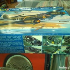 Radio Control: REVELL GERMANY 1/32 WWII JUNKERS JU88A-1 BATTLE OF BRITAIN. KIT4778. Lote 178825685