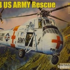 Radio Control: MAQUETA 1/48 - CH-34 US ARMY RESCUE GALLERY MODELS - NO. 64103 - 1:48. Lote 180011372