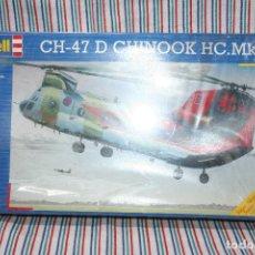 Radio Control: MAQUETA HELICOPTERO CH-47 CHINOOK HC . MK 1, EN SU CAJA SIN ESTRENAR. Lote 180328933