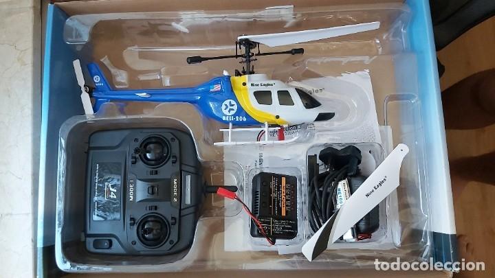 HELICÓTERO TELEDIRIGIDO DE EXTERIOR. (Juguetes - Modelismo y Radiocontrol - Radiocontrol - Aviones y Helicópteros)