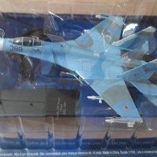 Radio Control: 1 AVION DE COMBATE RUSO ** SUJOI SU-27P FLANKERF URSS 1989 ** 1:100 EN SU BLISTER SALVAT . Lote 181978961