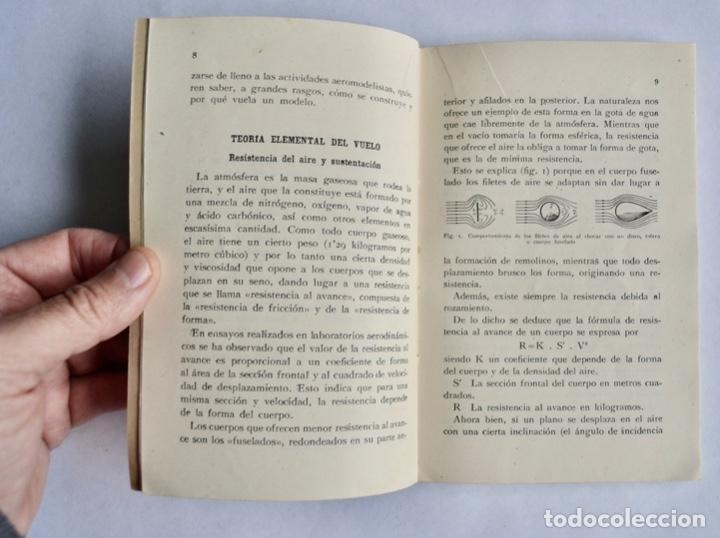 Radio Control: Construcción de Aeromodelos. Seix Barral Editores. Barcelona, 1943. Guía Aeromodelismo - Foto 4 - 182641523