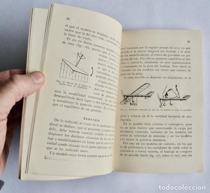 Radio Control: Construcción de Aeromodelos. Seix Barral Editores. Barcelona, 1943. Guía Aeromodelismo - Foto 5 - 182641523