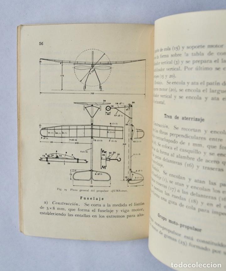 Radio Control: Construcción de Aeromodelos. Seix Barral Editores. Barcelona, 1943. Guía Aeromodelismo - Foto 7 - 182641523