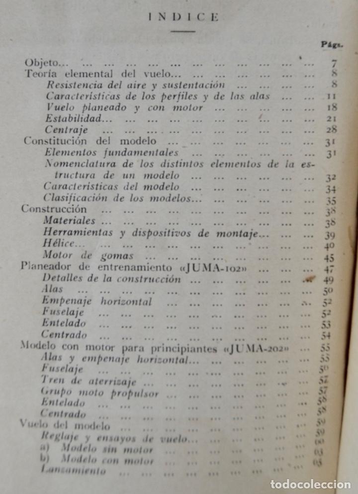 Radio Control: Construcción de Aeromodelos. Seix Barral Editores. Barcelona, 1943. Guía Aeromodelismo - Foto 8 - 182641523