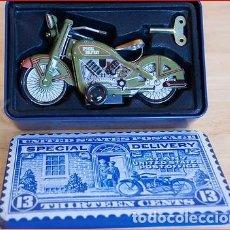 Radio Control: AMERICAN POSTAL COLLECTION TIN TOY ~ MOTOCICLETA DE ENTREGA ESPECIAL ~ 2008 ~ SCHYLLING. Lote 183570435