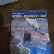 Radio Control: MONTA Y PILOTA TU AVIÓN DE RADIOCONTROL-ALTAYA Nº60 CON SERVO. Lote 190454087
