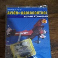 Radio Control: MONTA Y PILOTA TU AVIÓN DE RADICONTROL-ALTAYA Nº54 CON SERVO. Lote 190454292