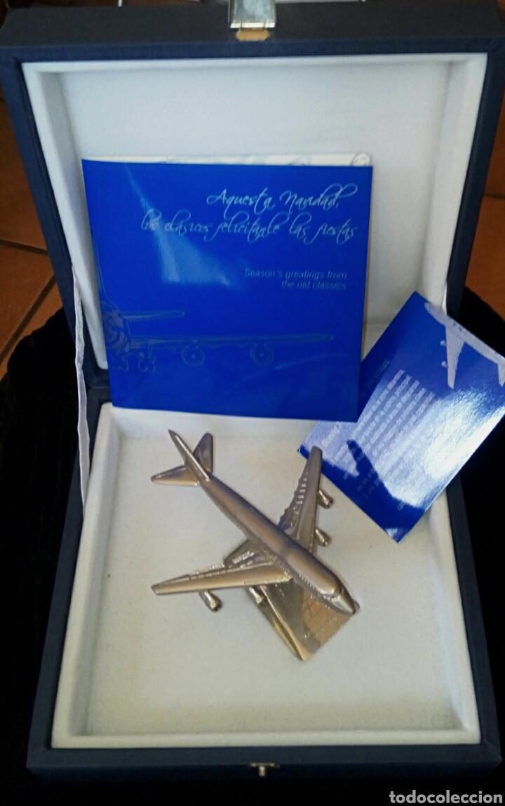 Radio Control: EDICION CONMEMORATIVA DE IBERIA BOEING 747 - A ESCALA Y EN ACERO - EDICION VIP - Foto 2 - 190935651