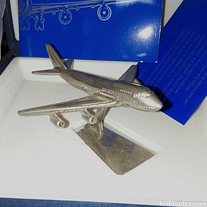 Radio Control: EDICION CONMEMORATIVA DE IBERIA BOEING 747 - A ESCALA Y EN ACERO - EDICION VIP - Foto 3 - 190935651