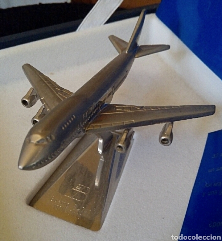 Radio Control: EDICION CONMEMORATIVA DE IBERIA BOEING 747 - A ESCALA Y EN ACERO - EDICION VIP - Foto 6 - 190935651