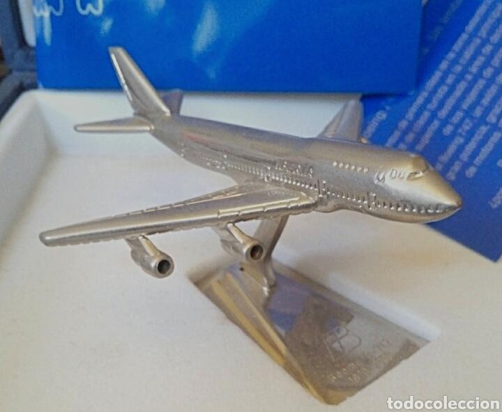 Radio Control: EDICION CONMEMORATIVA DE IBERIA BOEING 747 - A ESCALA Y EN ACERO - EDICION VIP - Foto 7 - 190935651
