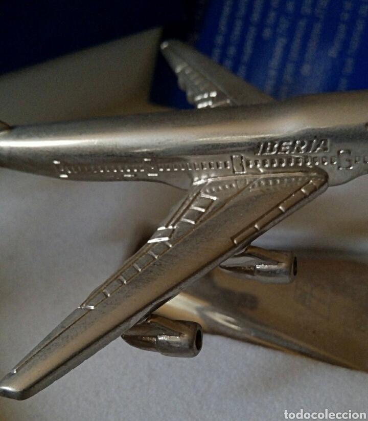 Radio Control: EDICION CONMEMORATIVA DE IBERIA BOEING 747 - A ESCALA Y EN ACERO - EDICION VIP - Foto 11 - 190935651