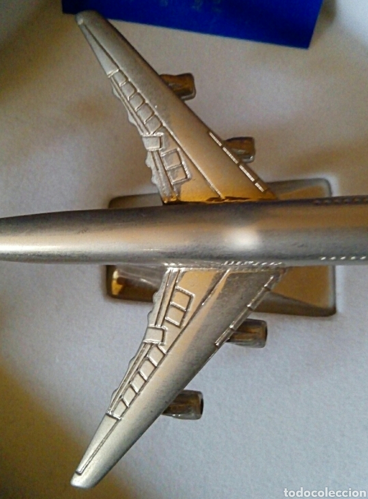 Radio Control: EDICION CONMEMORATIVA DE IBERIA BOEING 747 - A ESCALA Y EN ACERO - EDICION VIP - Foto 12 - 190935651