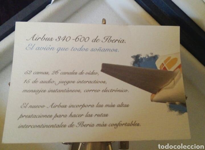 Radio Control: EDICION CONMEMORATIVA AIRBUS 340/600 - A ESCALA Y EN ACERO - EDICION VIP - Foto 13 - 190937998