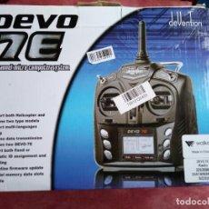 Radio Control: WALKERA DEVO 7E TRANSMISOR 7CH CANALES. Lote 192062491