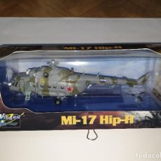Radio Control: EASY MODEL MI-17 HIP-H HELICÓPTERO PLÁSTICO ESCALA 1:72. Lote 193642136